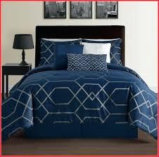 bedding 5 piece regal navy blue white comforter set king blue navy blue comforter set canada