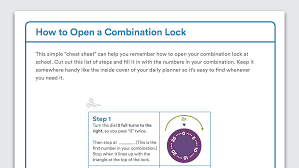 Crack A Master Combination Lock Flow Chart How To Open A Combination Lock School Locker
