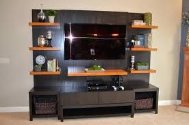 entertainment center with shelves. Floating Shelves Entertainment Center Shelf Diy Intended With