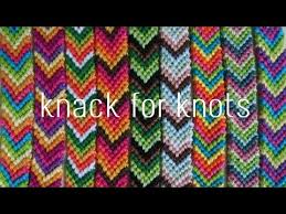 Chevron Friendship Bracelet Pattern