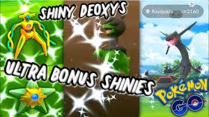 Shiny MADNESS in Pokemon GO | Ultra Bouns Week 2 Shiny Deoxys ...