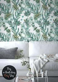 tropical leaves removable wallpaper leaf