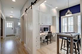 20 Home Offices With Sliding Barn Doors Office Decorations 12