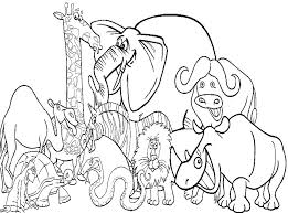 zoo animals coloring page animal coloring book for kids feat printable coloring pages for kids animals