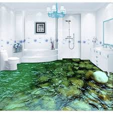 wish 3d pvc flooring custom wall sticker 3d water background floor stickers lotusf bathroom flooring painting photo wallpaper for walls 3d