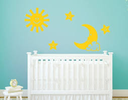 sun moon and stars kids and nursery