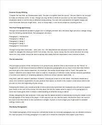 writing examples essay writing
