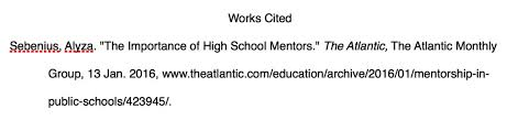 what is a works cited page creating a works cited page the word on college reading and writing