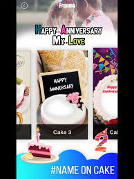 Anniversary Cake Photo Frame On The App Store