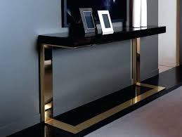 Black modern sofa table Slim Black And Gold Console Table Amazing Of Modern Console Tables Ideas Home Inspiration Ideas Living Room Black And Gold Console Table Linkbusinessinfo Black And Gold Console Table Abalone Console Table Contemporary