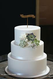 Simple 3 Tier Wedding Cake Ideas Simple 3 Tier With Handmade