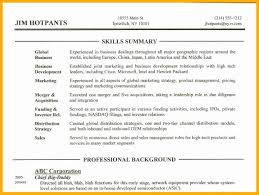 4 Resume Skills Section Examples Data Analyst Resumes