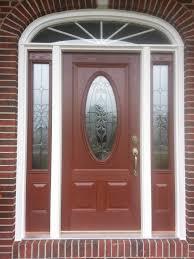 Exterior Wood Doors Fiberglass For Sale Provia Entry Door With One