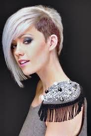 Half Shaved Hairstyles For Women Trends Modellenboek Kapsalon