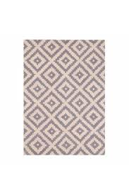 cult furniture 100 wool grey aztec diamond hand tufted rug cult furniture from little mistress uk