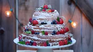 Naked Wedding Cake Gemmas Bigger Bolder Baking