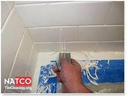 removing mold from bathtub caulking