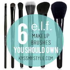 six e l f brushes you should own