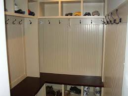 Coat Rack With Storage Space Beauteous L Shaped Corner Mudroom Bench With Shoes Rack Also Coat Hook And