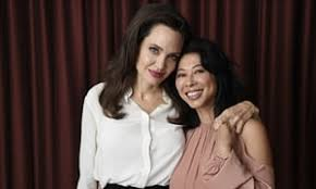 angelina jolie has found a powerful voice as a director it s time  angelina jolie loung ung n activist and co writer of her latest