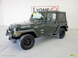 2005 Moss Green Pearlcoat Jeep Wrangler Willys Edition 4x4 ...