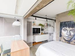 architecture design for home. 258-square-foot Micro Apartment Is Fashioned Like A Hotel Because The Owner Only Uses Flat To Sleep, Casa 100 Designed Home Be More Hotel. Architecture Design For