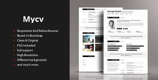 50 html5 resume and cv templayes sixthlifesixthlife .