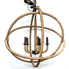 atom chandelier twine wrapped timothy oulton
