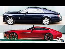 2018 maybach vision price.  2018 2018 rollsroyce sweptail vs vision mercedesmaybach 6 coupe throughout maybach vision price