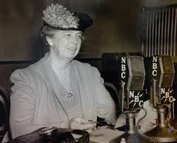 eleanor roosevelt the first lady of radio american radioworks  eleanor roosevelt the first lady of radio ""