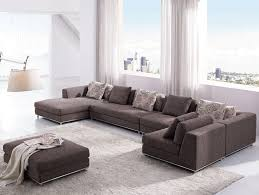 White Living Room Furniture Sets Furniture Modern Leather Sofa Set With Black Floor Lamp For White