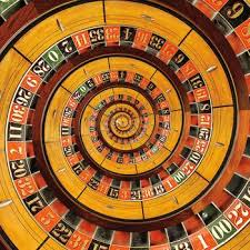 Spiral Roulette Wheel Droste by Kitty Bitty