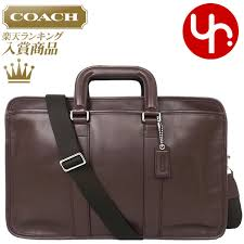 coach coach bags business f70662 mahogany lexington leather embassy briefcase products