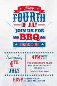 4th Of July Invitation Template Happy 4th July Alex Court Of