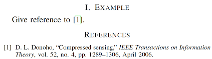 Ieee Citation Example In Text Free Ieee Citation
