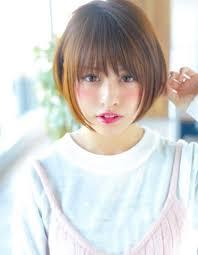 丸顔に似合うヘアスタイルカタログきっと丸顔が好きになる Naver