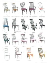 dining room chairs styles dining room chair style names types fabulous in dining room