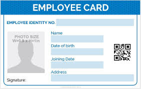 identity card template word 5 best employee id card format in word microsoft word id card