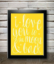 love you to the moon and back wall art i love you to the moon and