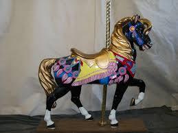 self standing carousel horse