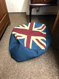 bean bags union jack bean bag chair chair union jack bean bag footstool free furniture