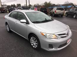 Used 2012 Toyota Corolla For Sale   Charlottesville VA