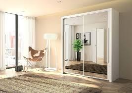 wardrobe with mirrored door 2 door wardrobe slider white mirror hinged mirrored wardrobe doors ikea