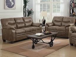Meagan Brown Sofa and Loveseat Set - Bailey's Furniture
