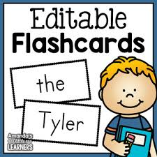 Flashcard Template Flashcard Templates Teaching Resources Teachers Pay Teachers