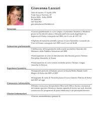 Modelli Di Curriculum Vitae Per Il Lavoro Che Vuoi | Livecareer