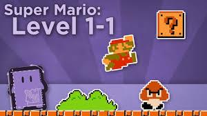Design Club Super Mario Bros Level 1 1 How Super Mario Mastered