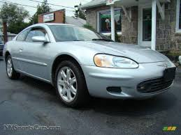 2001 Chrysler Sebring LXi Coupe in Ice Silver Pearlcoat - 064170 ...