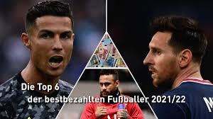 CR7 vor Messi: Die Top 6 der bestbezahlten Fußballer - Berliner Morgenpost