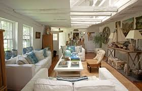 Rooms To Inspire By The Sea By Annie Kelly Beach Homes Houses Eclectic  Living